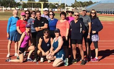 Mesa, AZ World Class Racewalking Clinics