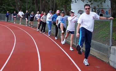 Dave McGovern's World Class Racewalking Clinics